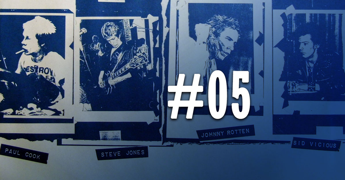 Whole Lotta Talk - Episode 5: Paul Cook - The Sex Pistols/The Professionals