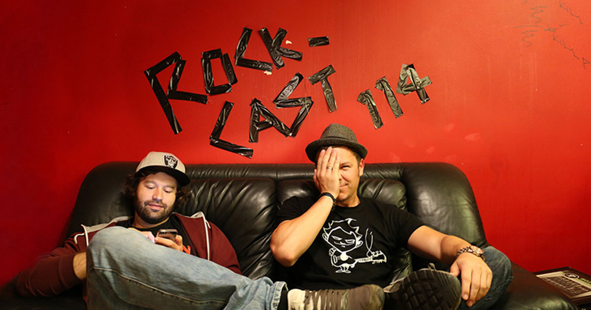 Rock-Cast 114 - Die ROCK ANTENNE Hamburg Late Night Show mit Serum 114