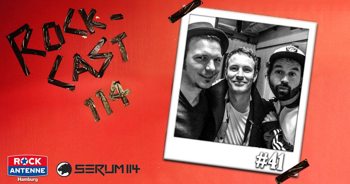 Rock-Cast 114 - Die Late Night Show: Folge 41 - Johannes Scholz