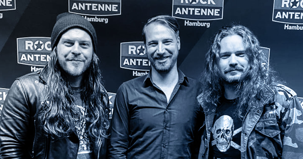 Whole Lotta Talk: Goodbye June im ROCK ANTENNE Hamburg Interview