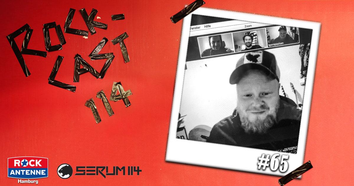 Rock-Cast 114 - Die Late Night Show: Folge 65 mit Björn Paulsen