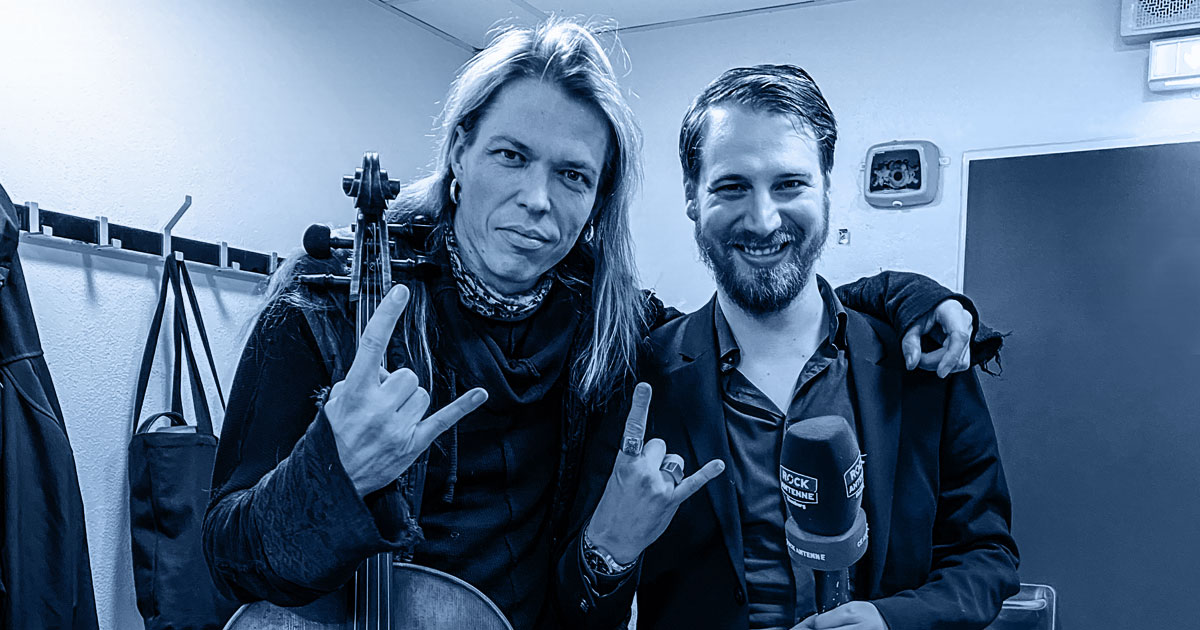 Whole Lotta Talk: Eicca Toppinen von Apocalyptica