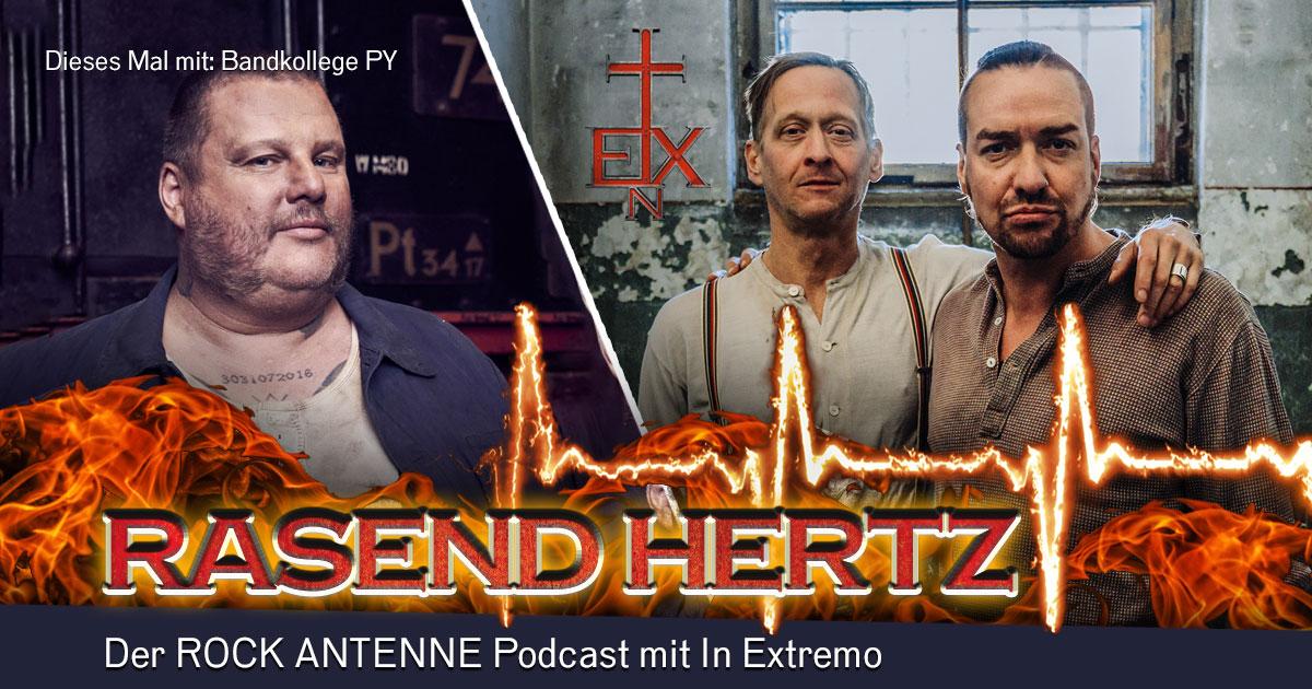 Folge 6: RASEND HERTZ - mit PY von In Extremo