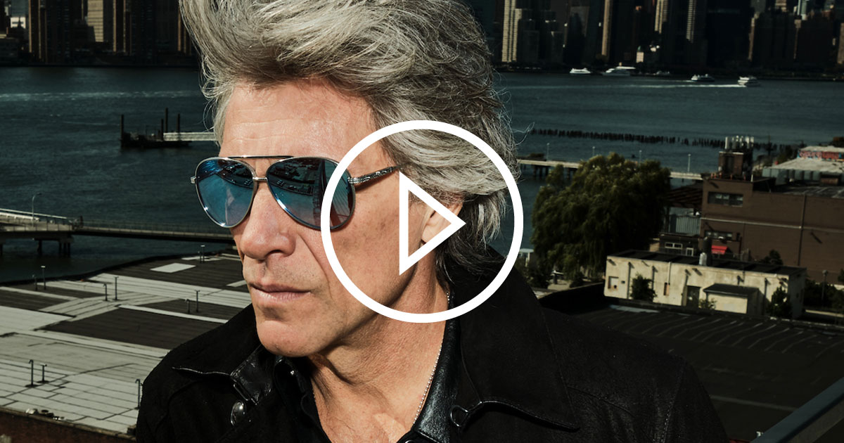 Bon Jovi 2020: Jon Bon Jovi im ROCK ANTENNE Hamburg Interview