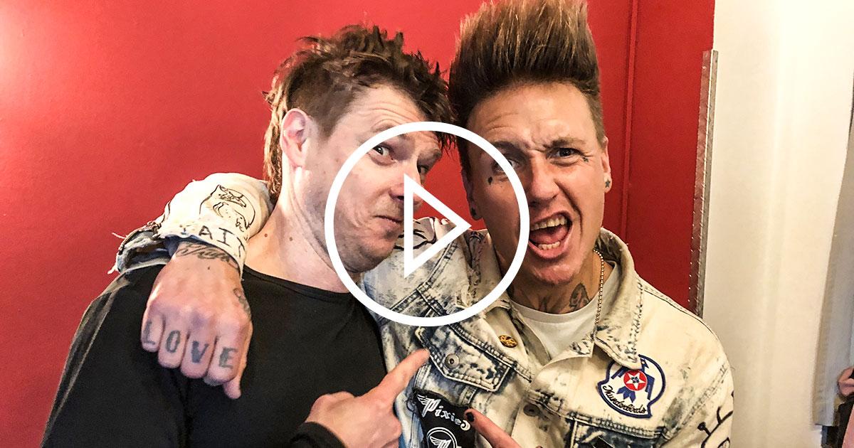 Papa Roach 2020: Jacoby Shaddix im ROCK ANTENNE Hamburg Interview