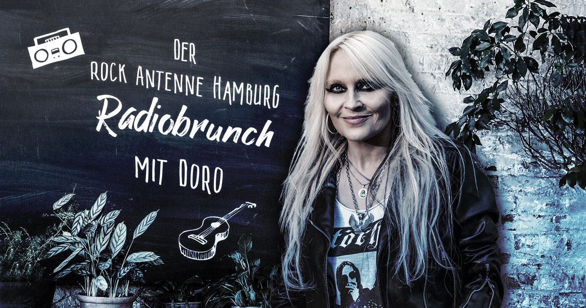 Der ROCK ANTENNE Hamburg Radiobrunch mit DORO
