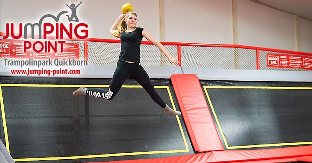 Hamburg Deals: 60 Minuten zum halben Preis im JumpingPoint in Quickborn