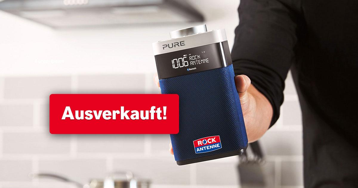 Exklusiv: Das ROCK ANTENNE Hamburg Digitalradio von Pure!