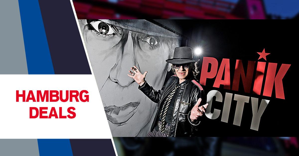 Hamburg Deals: Udo Lindenbergs PANIK CITY - Tickets zum halben Preis