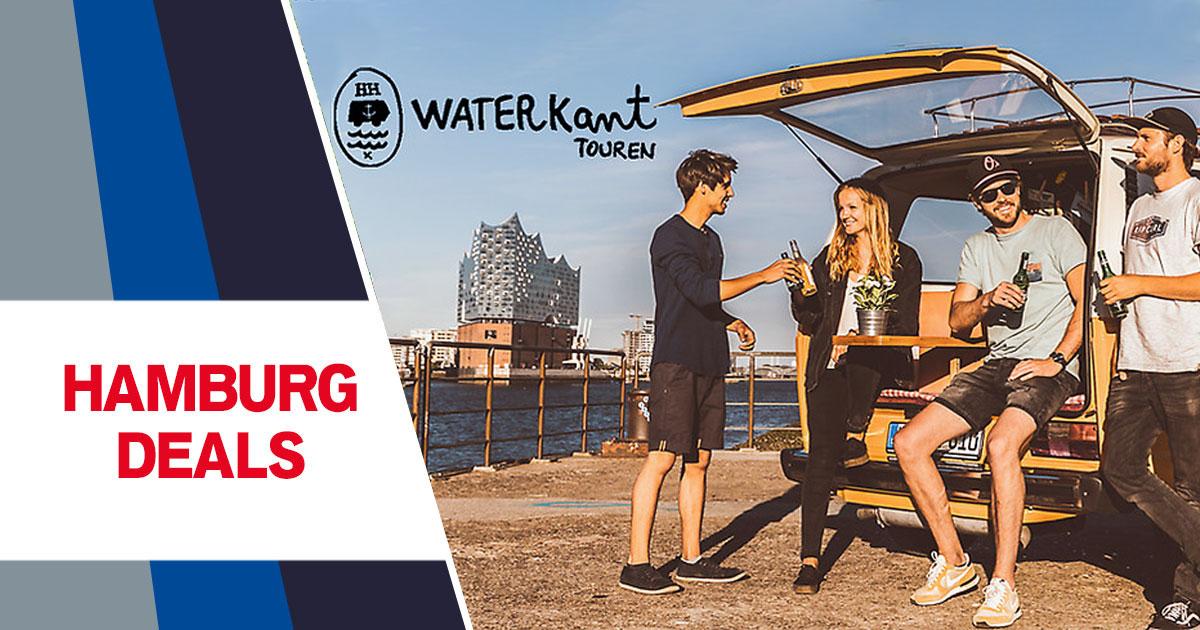 Hamburg Deals: WATERKANT Touren Bulli-Tour durch Hamburg zum halben Preis