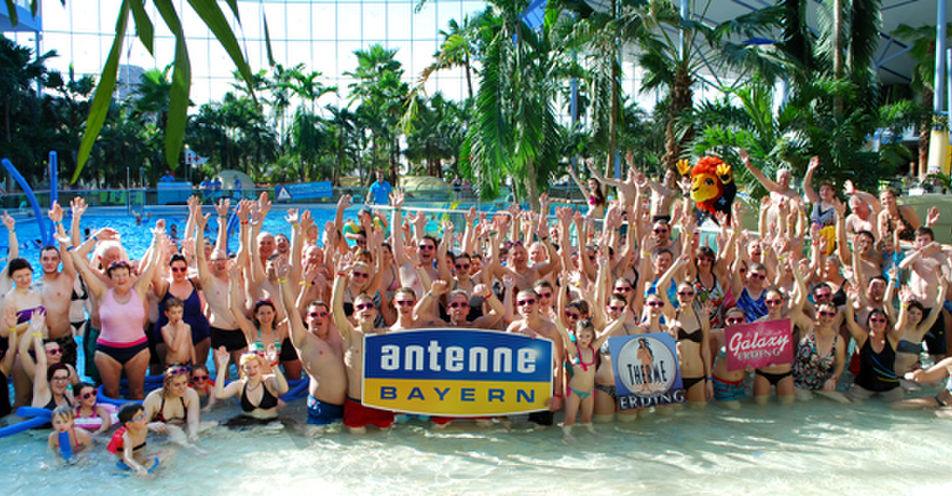 Riesenspaß in der Therme: ANTENNE BAYERN geht mit ganz Allersberg baden