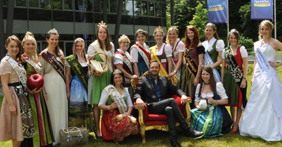 15 bayerische Königinnen zu Gast in der 'Stefan Meixner Show' auf ANTENNE BAYERN