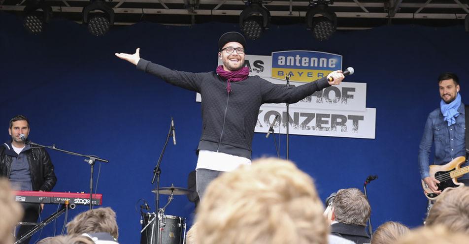 Mark Forster spielt Exklusiv-Konzert auf Freisinger Pausenhof