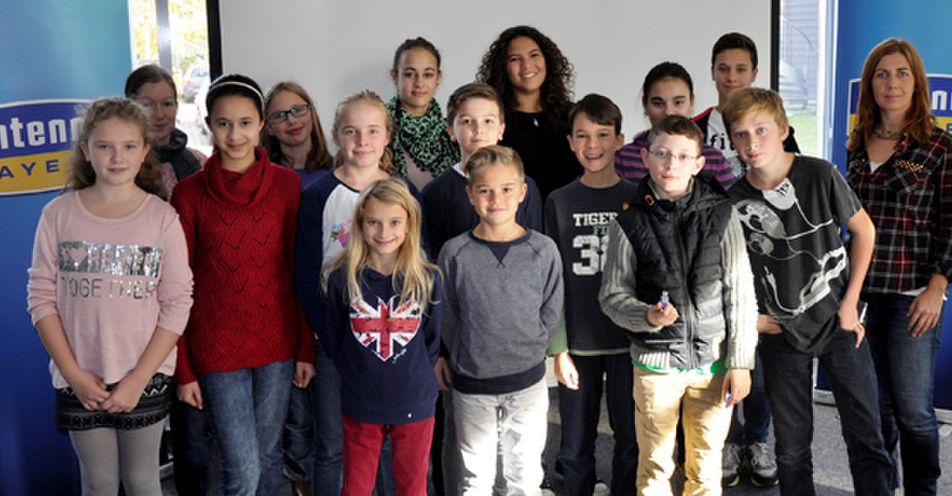 Realschule Neubiberg entdeckt das Radio – Schüler zu Besuch im Funkhaus von ANTENNE BAYERN