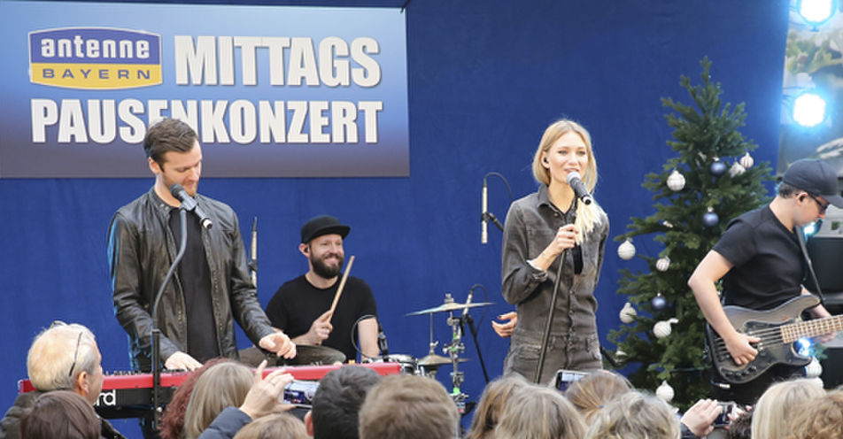 Mittagspause einmal anders – Glasperlenspiel spielt exklusives Konzert in Kiefl's Gartencenter in Gauting