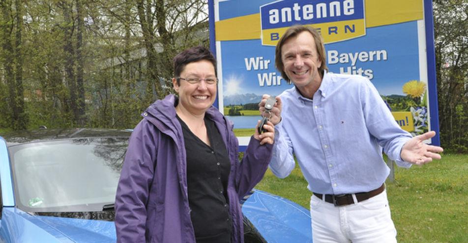 Die schnellste Heilpflegerin Bayerns – Lydia Hahn aus Kaufbeuren ist ANTENNE BAYERN-Testfahrerin