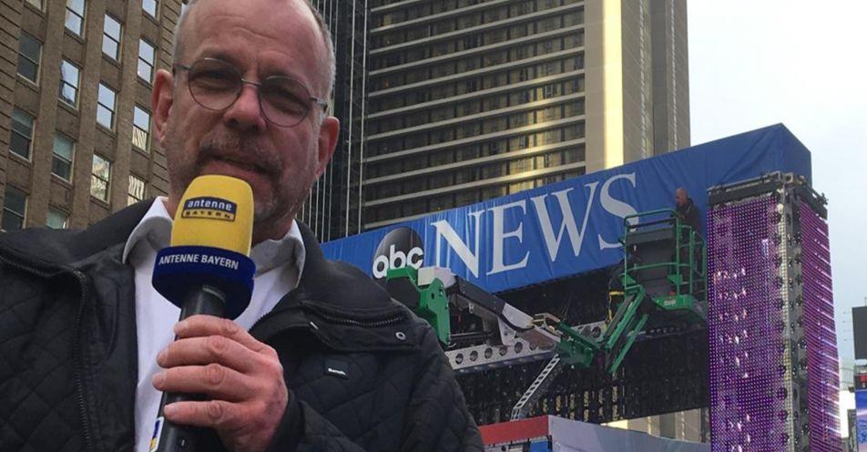 Bayerischer Reporter berichtet live von US-Wahl aus Washington