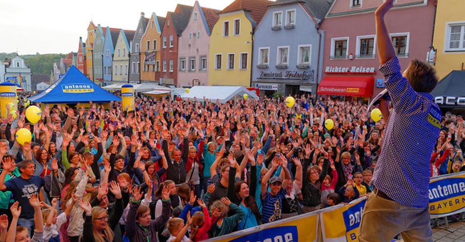 5.000 Oberpfälzer feiern mit ANTENNE BAYERN in Neustadt a. d. Waldnaab