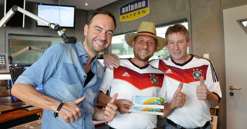 Dieter Häuslmann (47) aus Ebersberg fliegt mit ANTENNE BAYERN zum WM Finale nach Rio de Janeiro