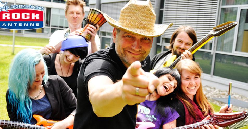 ROCK ANTENNE sammelt Stimmen für Bayerns größte Band