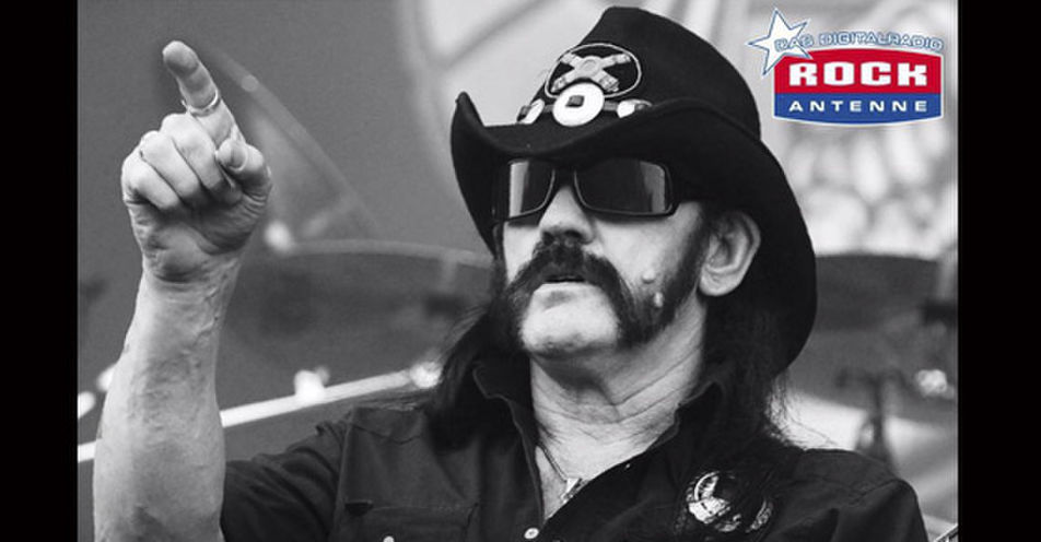 Spezialsendung: ROCK ANTENNE überträgt Trauerfeier von Lemmy Kilmister im Radio