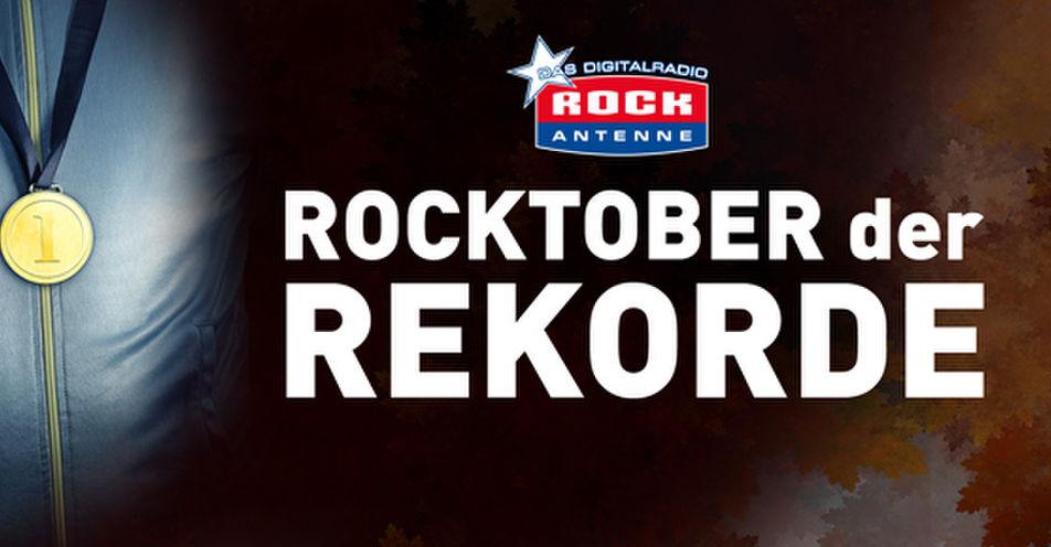 Rocktober der Rekorde startet auf ROCK ANTENNE