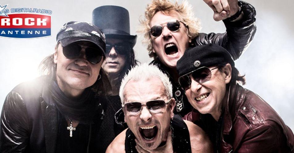 Scorpions mit eigener Show auf ROCK ANTENNE