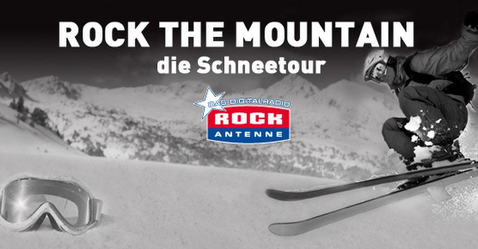 Der Berg rockt: Mit ROCK ANTENNE auf die Piste
