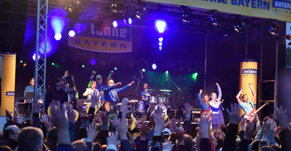 8.000 Mittelfranken feiern mit ANTENNE BAYERN in Treuchtlingen