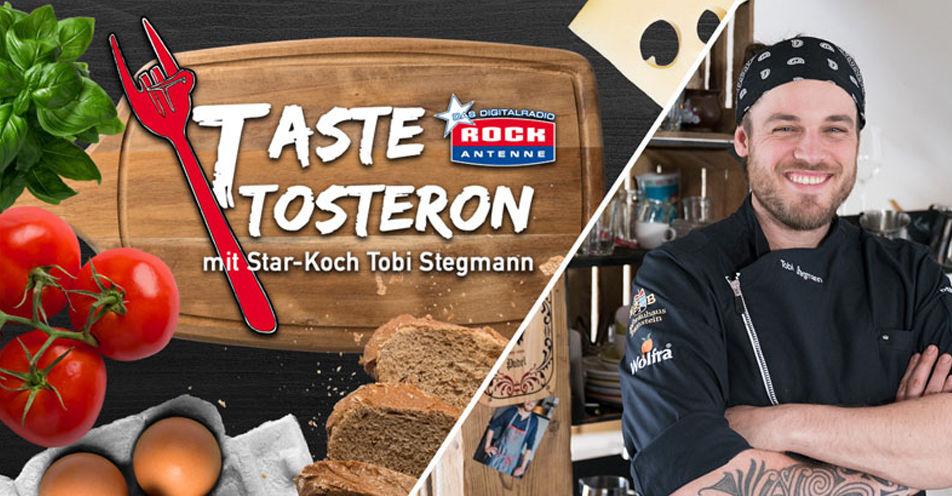 Star-Koch Tobi Stegmann kocht für ROCK ANTENNE