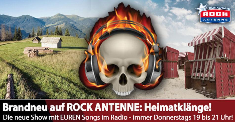 Neue Show auf ROCK ANTENNE: 'Heimatklänge' bringt Bands aus Deutschland ins Radio