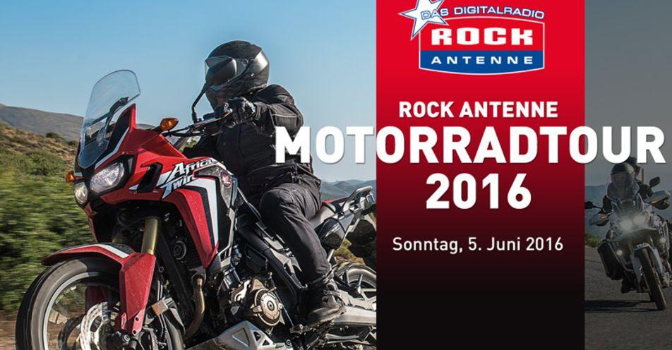ROCK ANTENNE Motorradtour geht in die fünfte Runde