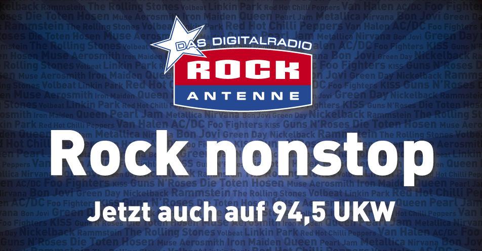 ROCK ANTENNE ab jetzt auf UKW 94,5 in München