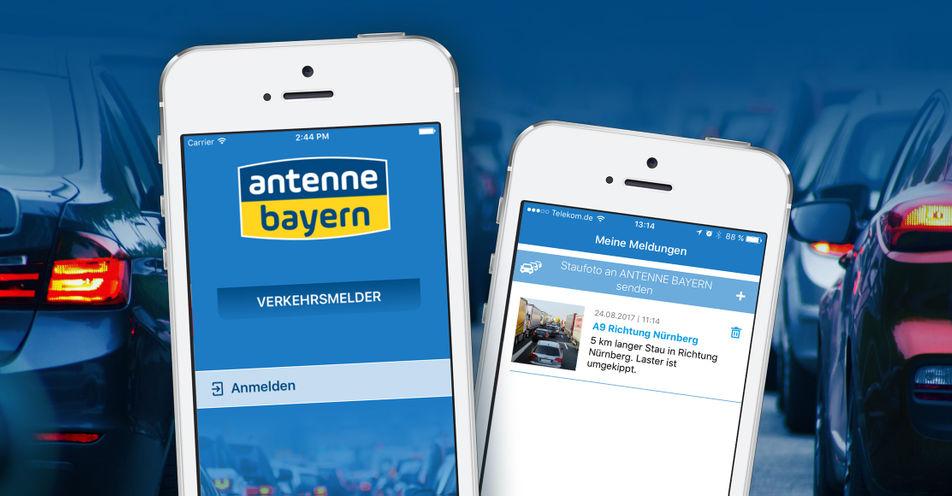 ANTENNE BAYERN launcht neue App und startet damit große Verkehrsmelder-Community