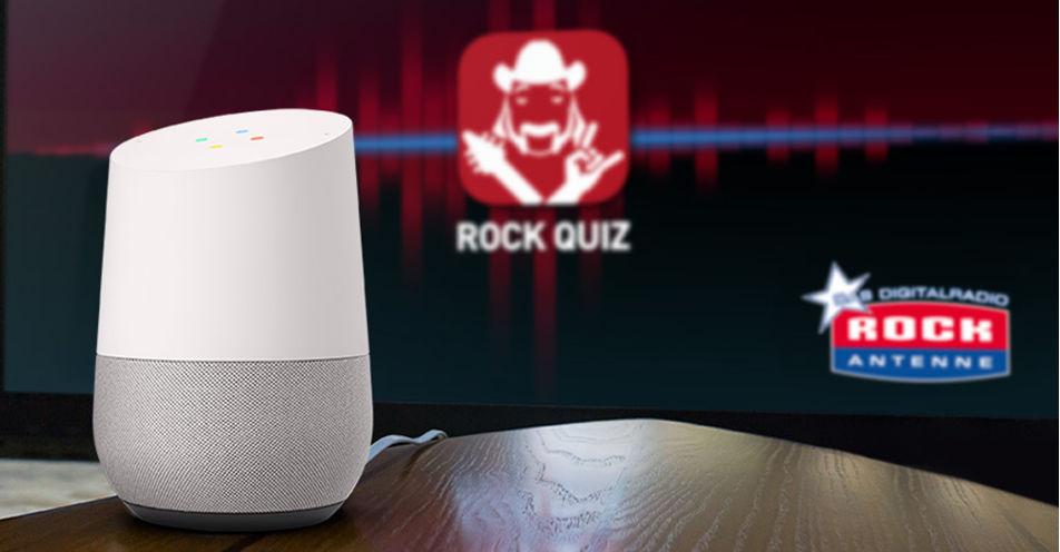 """""""Ok Google, rede mit Rock Quiz"""""""
