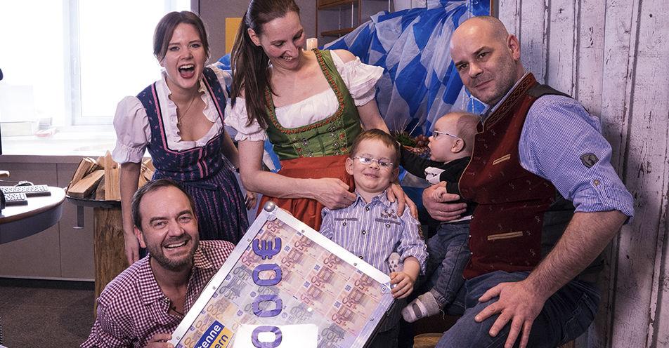 """Nici aus Naila räumt im Radio mit dem Wort """"Hütten"""" 20.000 Euro ab"""