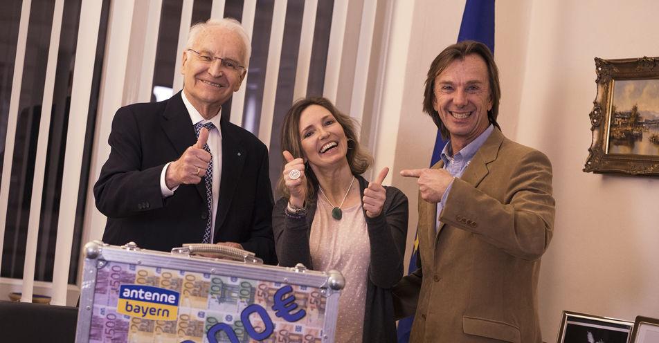 Edmund Stoiber bringt Nürnbergerin satte 50.000 Euro!