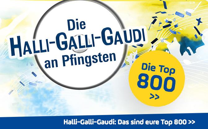 Die ANTENNE BAYERN Halli-Galli-Gaudi jetzt im Webradio hören!