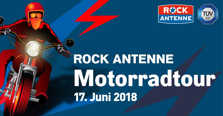 Die ROCK ANTENNE-Motorradtour 2018 nimmt Kurs auf