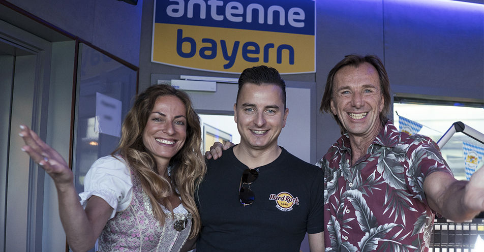 Andreas Gabalier singt offizielle ANTENNE BAYERN-WM-Hymne