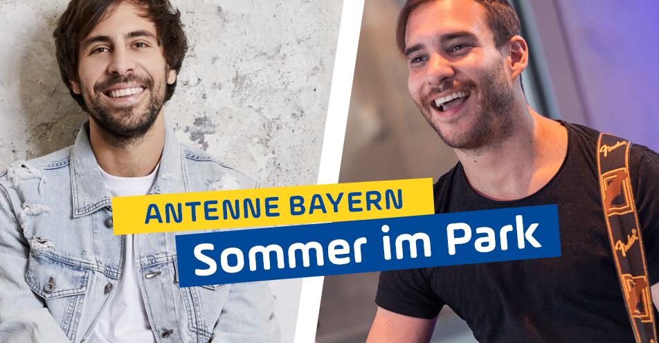 """ANTENNE BAYERN feiert """"Sommer im Park"""" mit Max Giesinger und Lions Head"""