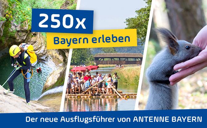 """""""250x Bayern erleben"""": Holt euch unseren Ausflugsführer"""
