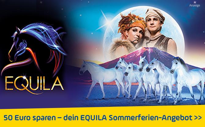 Das EQUILA Sommerferien-Angebot für Daheimgebliebene