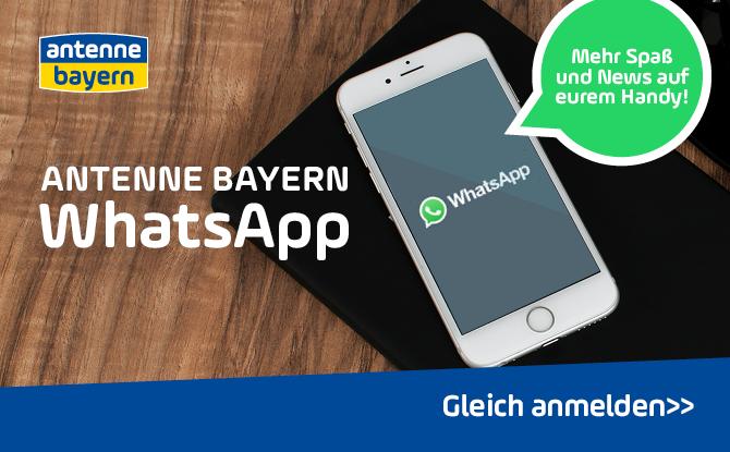 Die ANTENNE BAYERN WhatsApp: Mehr Spaß und News auf eurem Handy