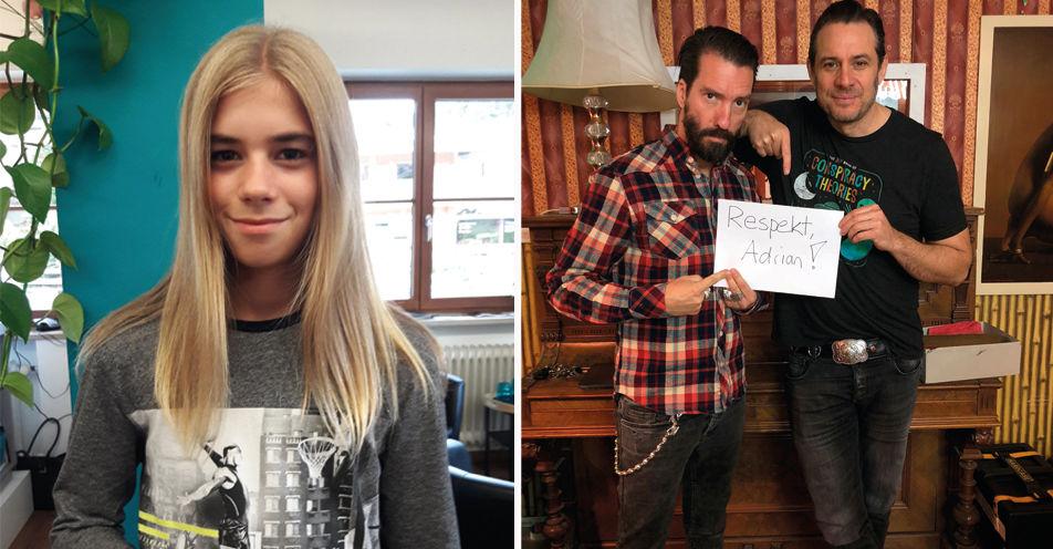 The BossHoss spielen exklusives Konzert für 12-jährigen Bellenberger