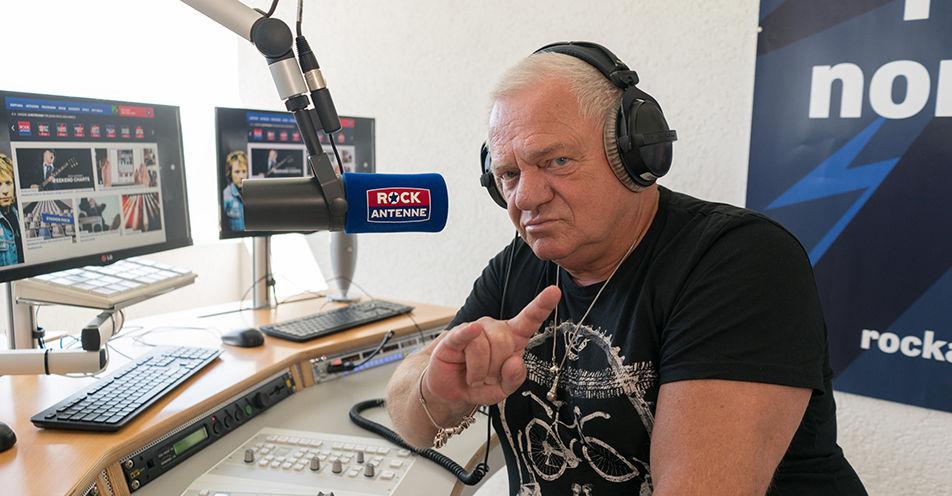 Metal-Legende Udo Dirkschneider moderiert auf ROCK ANTENNE