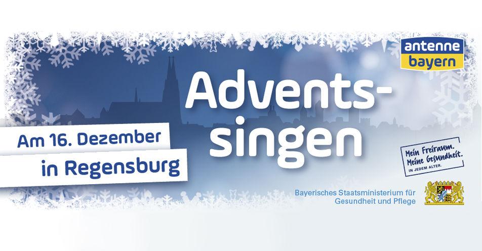 Das ANTENNE BAYERN Adventssingen in Regensburg