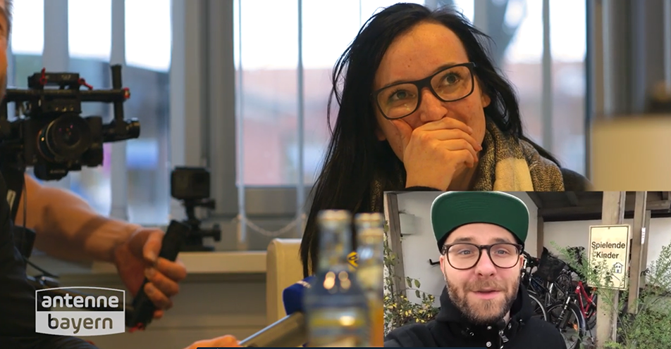 ANTENNE BAYERN überrascht Aichach-Friedbergerin mit Mega-Star Mark Forster