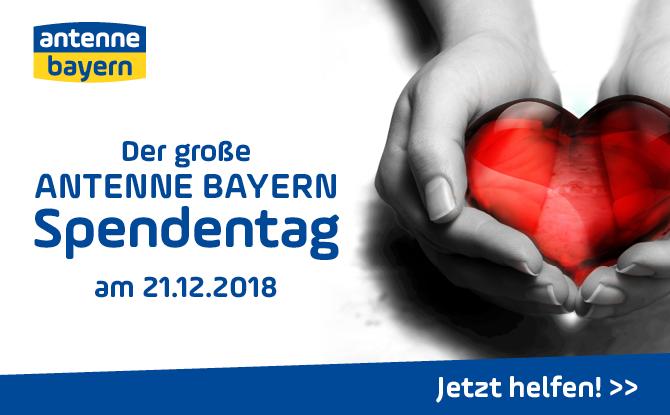 Stiftung ANTENNE BAYERN hilft - helft mit zu helfen!