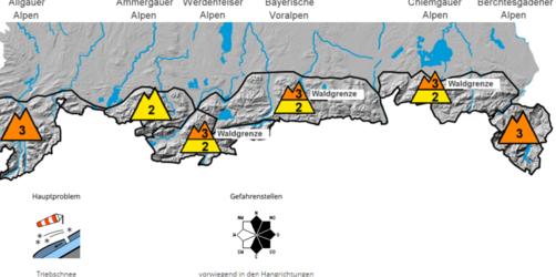 Lawinenwarnung für Bayern: Vor allem im bayerischen Alpenraum
